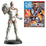 DC Superhero Cyborg Best Of Figure with Collector Magazine #50