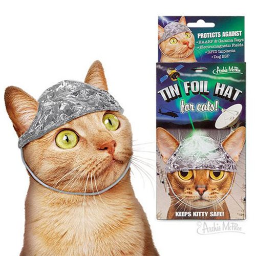 Tin Foil Hats for Cats