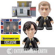 Sherlock Titans Sherlock and John Wedding Suit 3-Inch Vinyl Mini-Figure 2-Pack - Entertainment Earth Exclusive