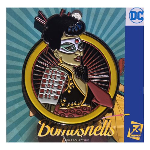 DC Bombshells Katana Badge Pin