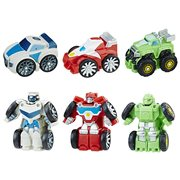 Transformers Rescue Bots Flip Racers Griffin Rock Stunt Team