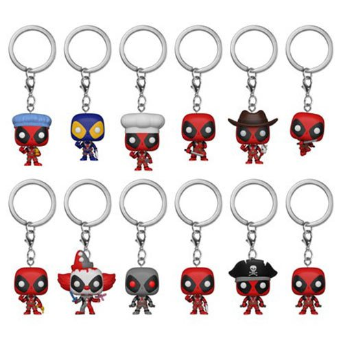 Deadpool Pocket Pop! Key Chain Display Case