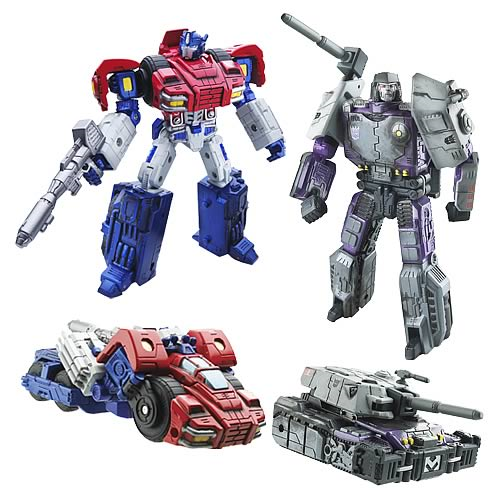 Transformers Titanium Series Cybertron Heroes Wave 1 Set