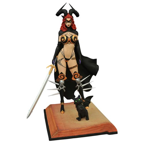 Femme Fatales Tarot #2 Statue Witch of the Black Rose