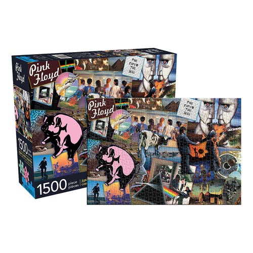 Pink Floyd 1,500-Piece Puzzle