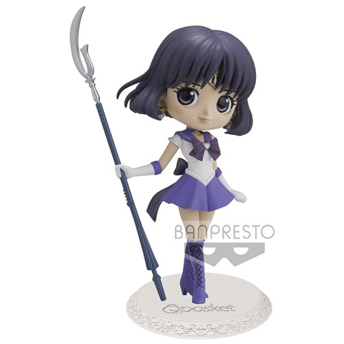 Sailor Moon Eternal Super Sailor Saturn Ver. B Q Posket Statue