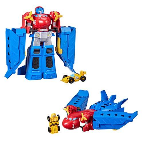 Transformers Optimus Prime Jumbo Jet Wing Racer Playset