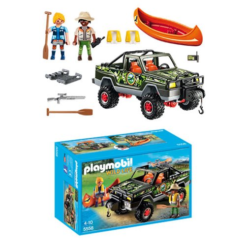 Playmobil 5558 Adventure Pickup Truck
