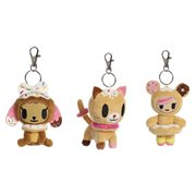 Tokidoki Donutella Key Chain Plush Display Case