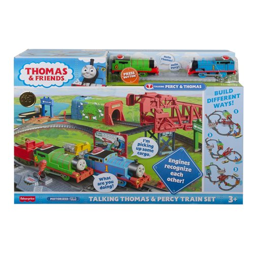 Thomas & Friends Fisher-Price Talking Thomas and Percy Train Set