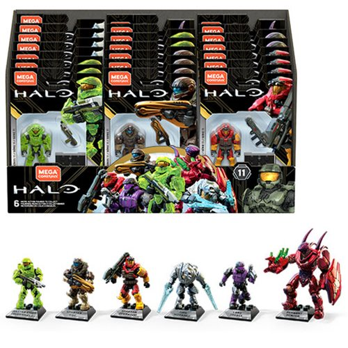 Halo Mega Construx Heroes Series 11 Mini-Figure Case
