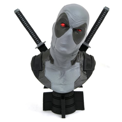 Marvel Legends in 3D X-Force Deadpool 1:2 Scale Bust - San Diego Comic-Con 2019 Exclusive