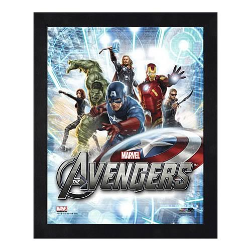 Avengers Movie Assembled Image 1 Small Framed Photo