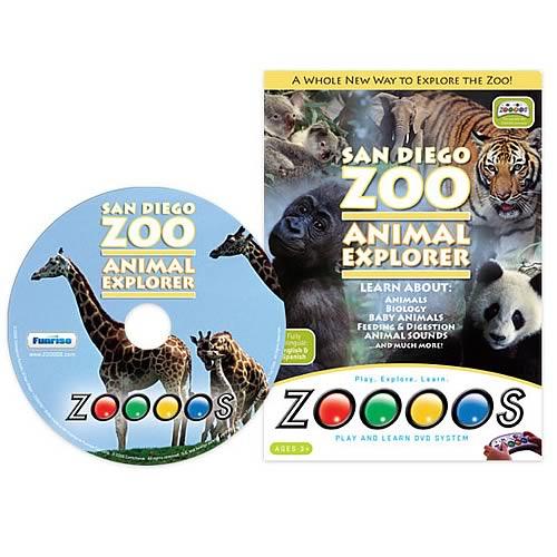 Zoooos San Diego Zoo DVD