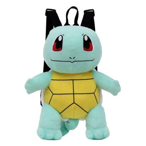 Pokemon Squirtle 17-Inch Plush Backpack