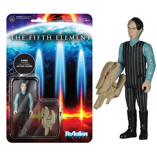 Fifth Element Zorg ReAction 3 3/4-Inch Retro Action Figure