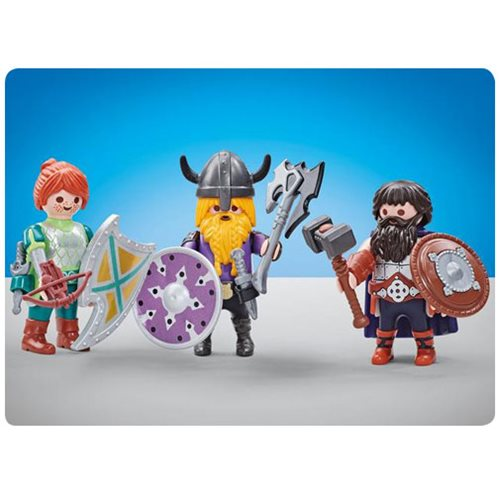 Playmobil 6588 Three Dwarf Fighters
