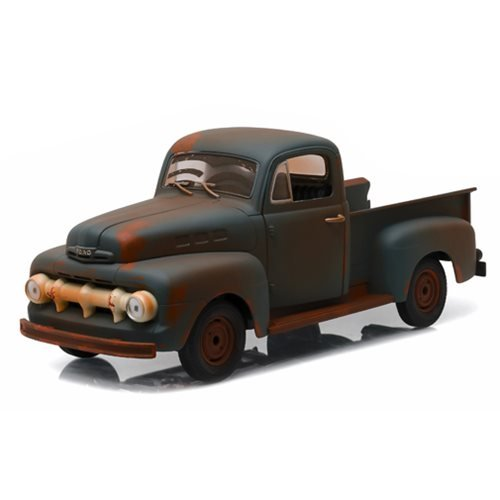 Forrest Gump 1951 Ford F-1 Box Truck 1:18 Scale Die-Cast Metal Vehicle