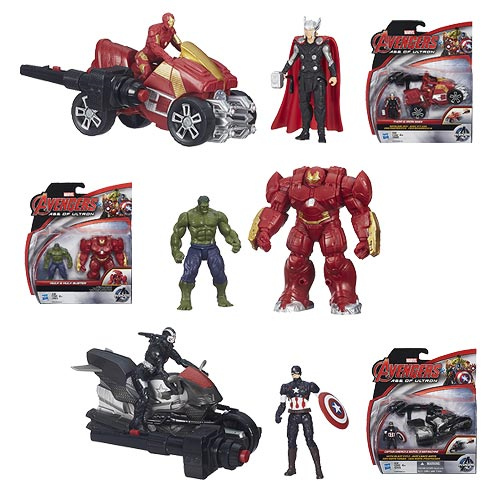 Avengers: Age of Ultron 2 1/2-Inch Deluxe Figures Wave 1 Set