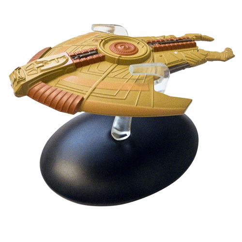 Star Trek Starships Cardassian Hideki Class Vehicle with Collector Magazine