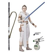 SW The Black Series Rey and D-0 Figure 1st Edition, Not Mint
