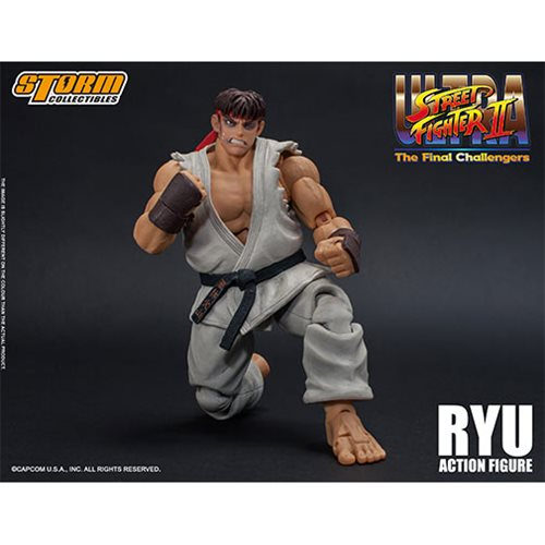 Ultra Street Fighter II: The Final Challengers Ryu 1:12 Scale Action Figure