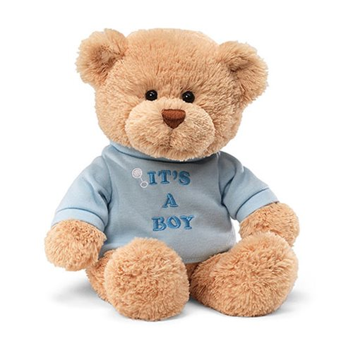 T-Shirt Bear It's a Boy 12-Inch Plush