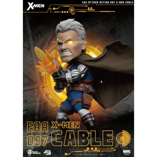 X-Men Cable Egg Attack EAA-097 Action Figure