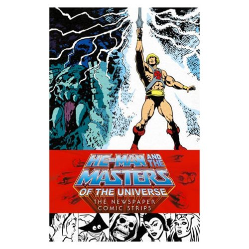 He-Man and the Masters of the Universe: The Newspaper Comic Strips Hardcover Book