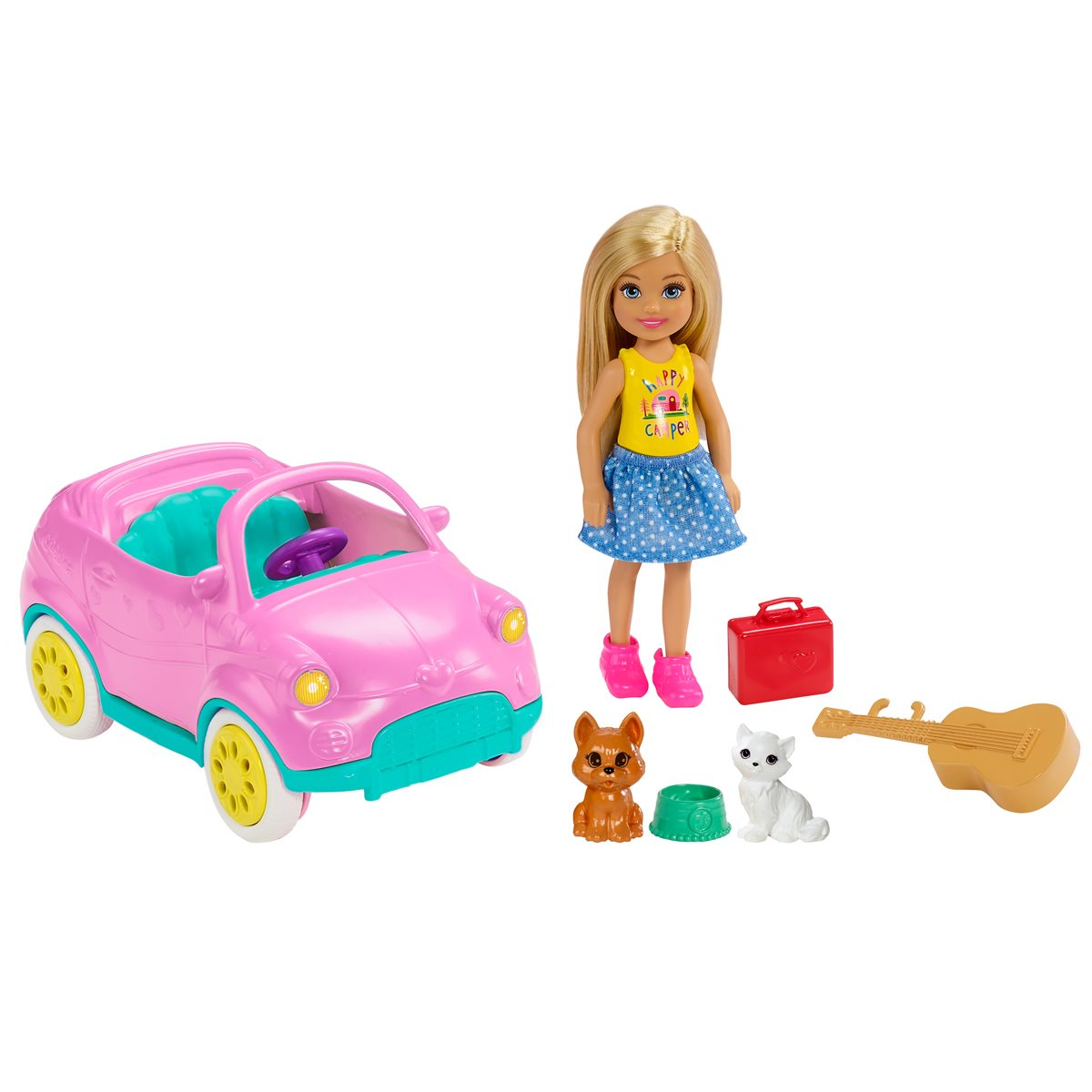Barbie Club Chelsea Doll And Vehicle Set Entertainment Earth
