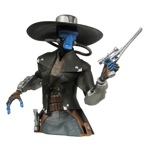 Star Wars The Clone Wars Cad Bane Bust Bank