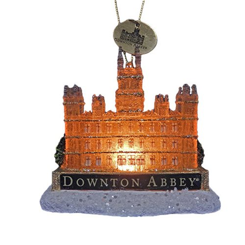 Downton Abbey Light-Up Castle 3 1/4-Inch Ornament