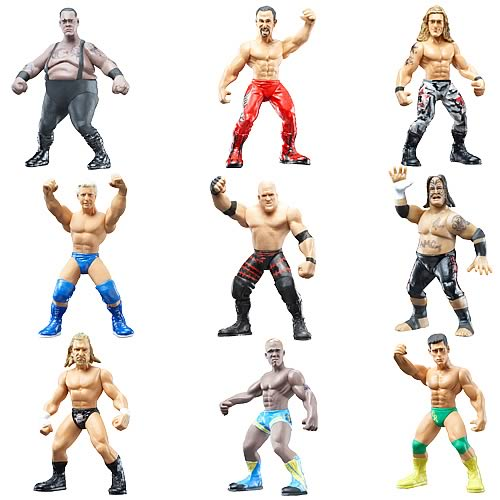 Wwe Micro Aggression 3 Packs Wave 11 Case