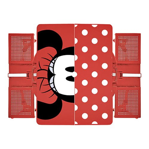 Minnie Mouser Portable Folding Table with Seats