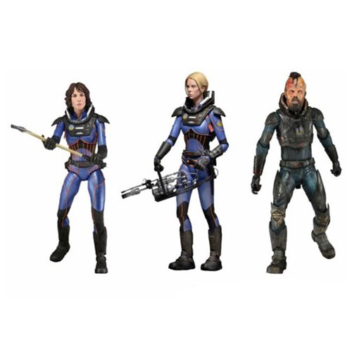 Prometheus Series 4 Lost Wave 7-Inch Deluxe Figure Set