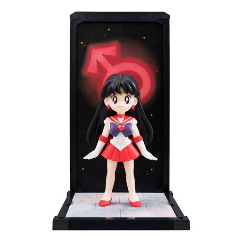 Sailor Moon Sailor Mars Tamashii Buddies Mini Statue