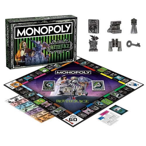 Beetlejuice Monopoly Game