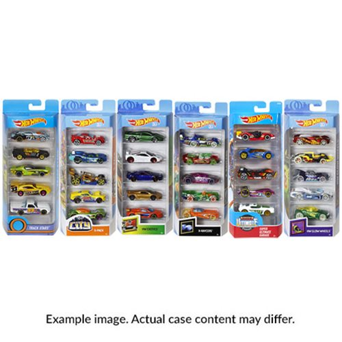 Hot Wheels 2019 5-Car Pack Wave 3 Case