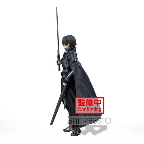 Sword Art Online: Alicization Knight Kirito Rising Steel Integrity Statue