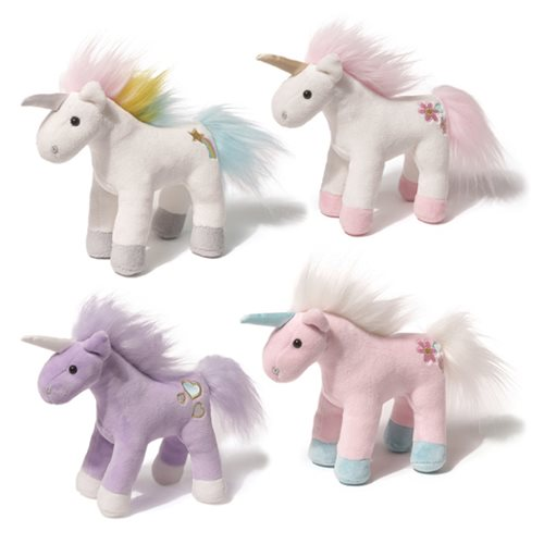 Unicorn Chatters 6-Inch Plush Set