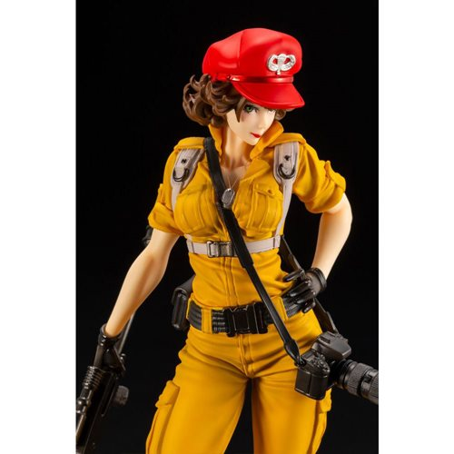 G.I. Joe Lady Jaye Canary Ann Color Variant Bishoujo Statue