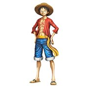 One Piece Monkey D.Luffy Manga Dimensions Grandista Statue