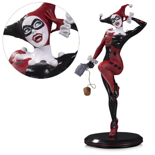 DC Comics Cover Girls Harley Quinn by Joelle Jones Statue