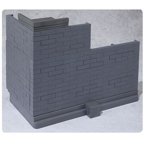 Brick Wall Grey Bandai Tamashii Option Effect Accessories