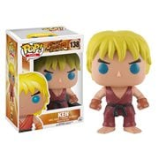 Street Fighter Ken Pop! Vinyl Figure