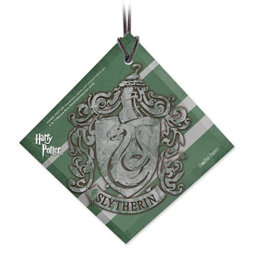 Harry Potter Slytherin Crest StarFire Prints Hanging Glass Ornament