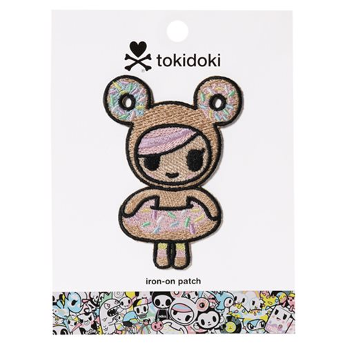 Tokidoki Pastel Pop Donutella Iron-On Patch