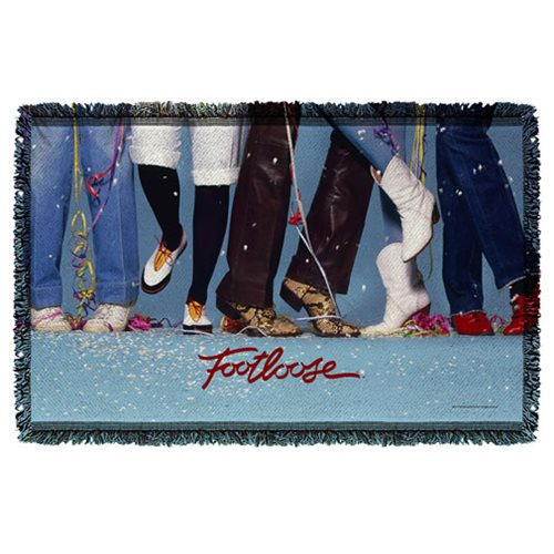 Footloose Loose Feet Woven Tapestry Throw Blanket
