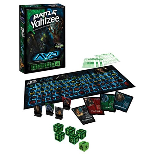 Alien vs. Predator Battle Yahtzee Game