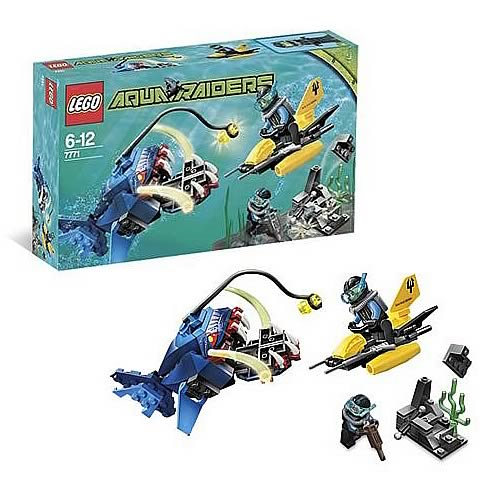 LEGO 7771 Aqua Raiders Angler Ambush - Entertainment Earth